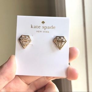 Kate Spade Diamond Stud Earrings
